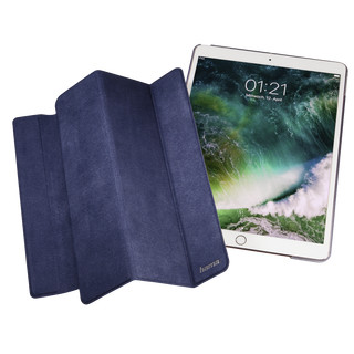 Hama Tablet-Case Suede Style für Apple iPad Pro 10.5 (2017), Dunkelblau (B-Ware)